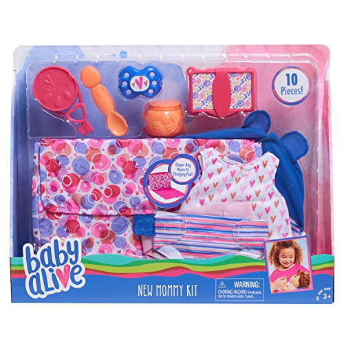 Baby Alive New Mommy Kit Doll Accessories, - New Mommy Kit
