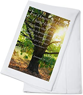 product image for Jeremiah 29:11 - Inspirational (100% Cotton Kitchen Towel)
