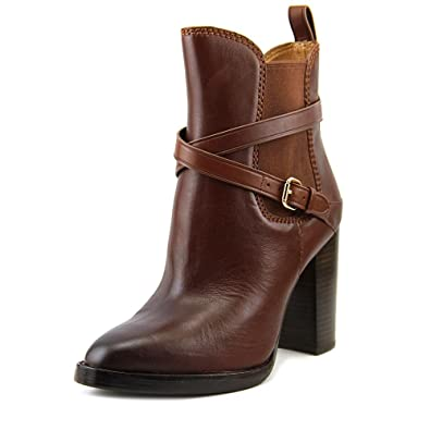 Womens Jackson Leather Closed Toe Ankle Fashion Boots