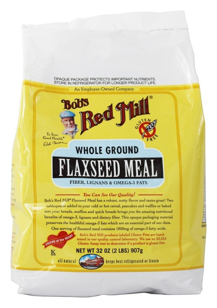 Bob's Red Mill - Gluten Free Flaxseed Meal - 32 oz (pack of 2)