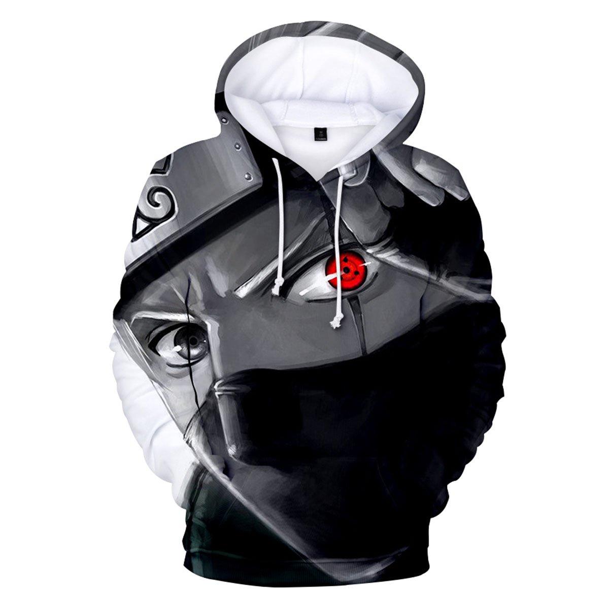 CTOOO 2018 Sweats à Capuche Naruto 3D Anime Homme Unisex Mode XXS-3XL
