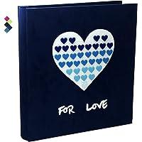 FondReco Baby Photo Album 4x6 600 Photos, 4x6 Photo Albums, Fabric Cover Photo Albums 4x6, Large Capacity Picture Albums…