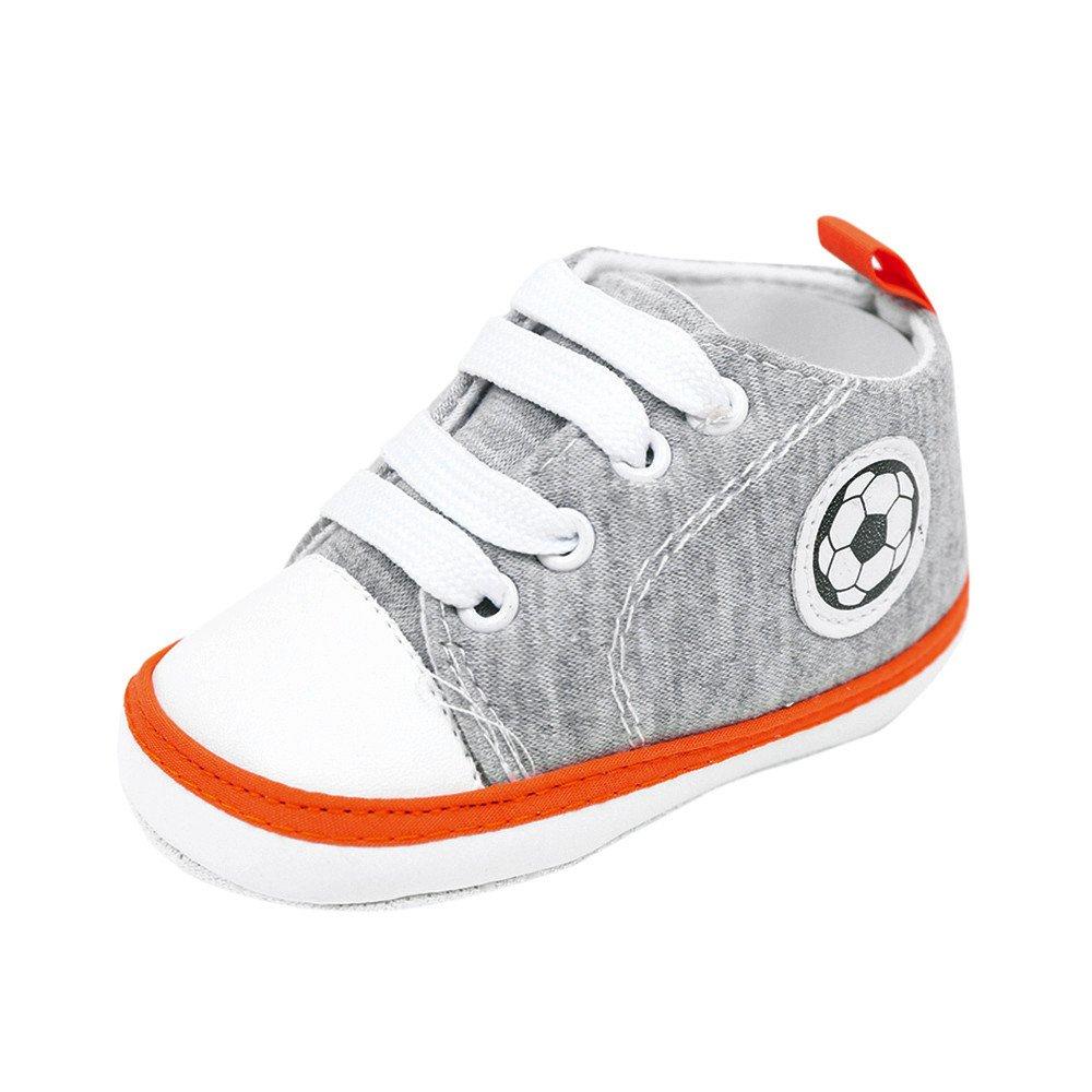Nuevos Zapatos de Lona Zapatos para bebés Zapatos para niños pequeños LILICAT ✈✈ 2019 Recién Nacido Bebé Fútbol Fútbol Zapatillas Antideslizantes Suela ...
