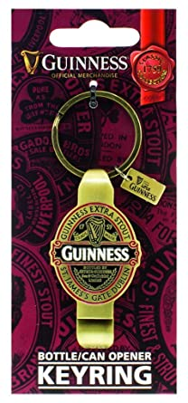 Amazon.com: Guinness Classic Pac Llavero Botella/Can Opener ...