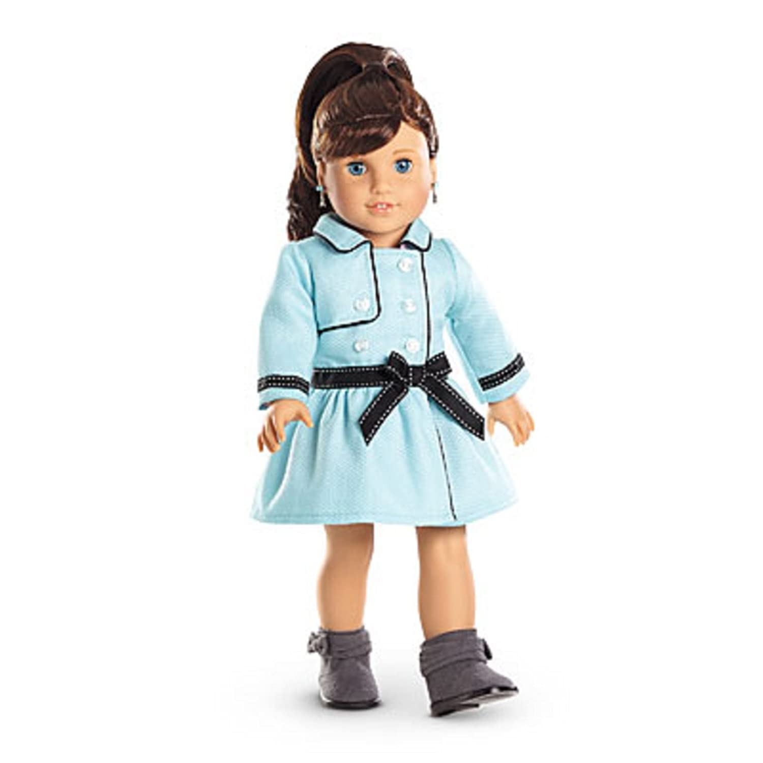 amazon com american girl grace grace s travel coat for dolls