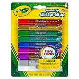 Crayola 69-3527 Crayola Washable Glitter Glue Pens .35 Ounce 9/Pkg