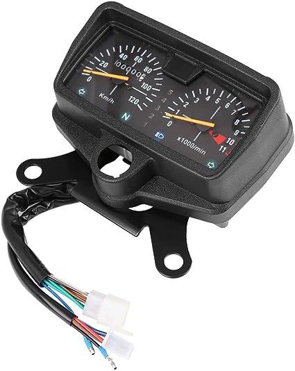 Contachilometri analogico per Moto 0-120 km//h Rabusion