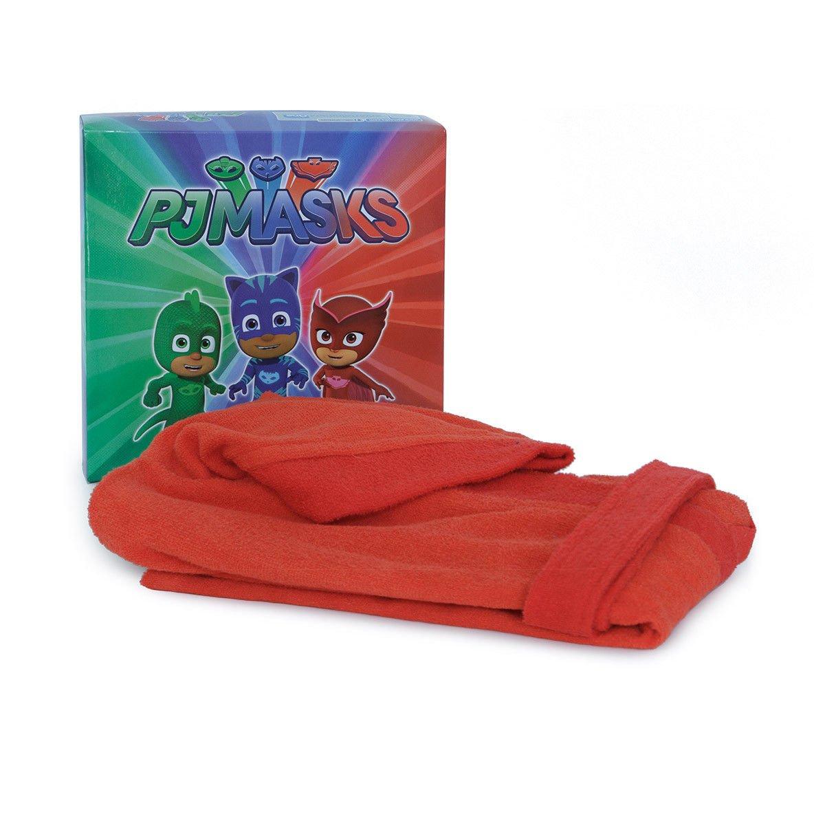 Accappatoio Super pigiamini Pj Masks per Bambino in microspugna Q398 2-3 anni AZZURRO