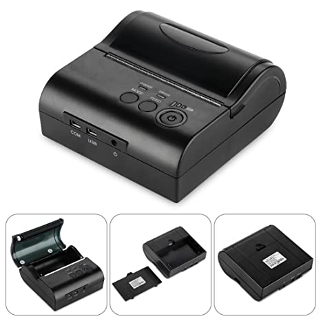 Excelvan - 80mm Bluetooth Inalámbrica Impresora Térmica de Recibos ...