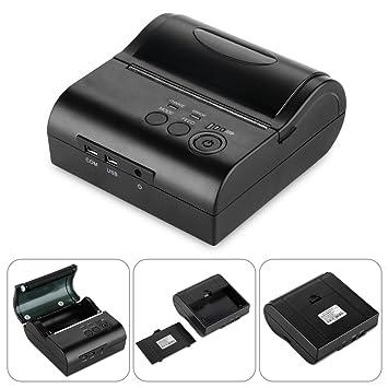 Excelvan - Impresora de Recibos inalámbrica Bluetooth portátil de ...