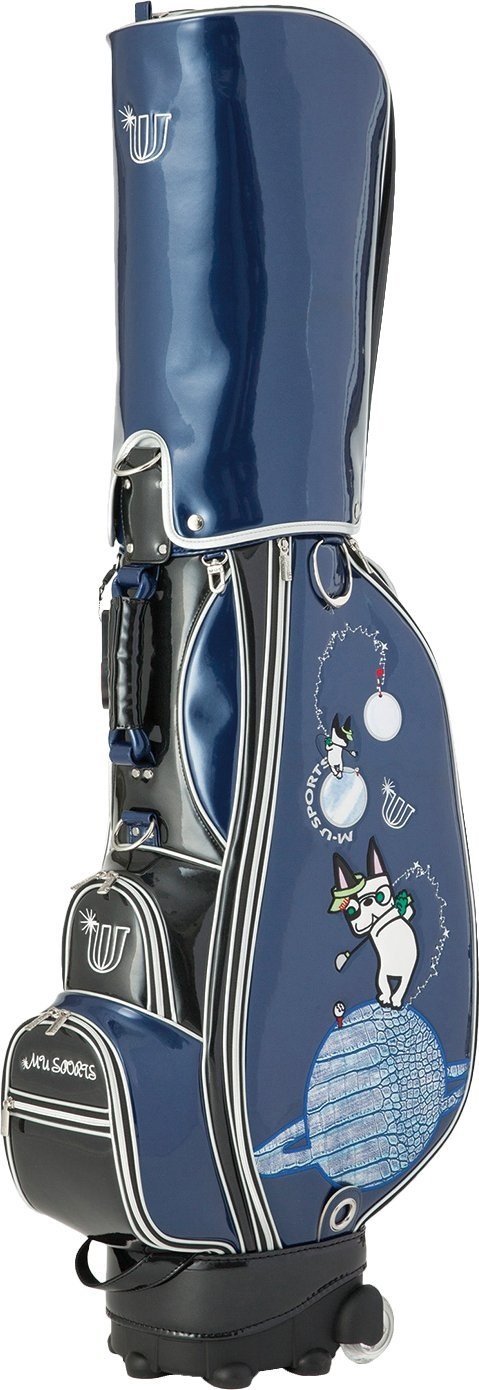 MU SportsレディースWheeledカートバッグ、703u6109 B075MPFRCJ ブルー