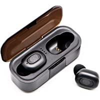 $29 » Latest Upgrade Bluetooth 5.0 Wireless Earbuds with Charging Box Waterproof Headset 45 Hours Playback time TWS Stereo with…
