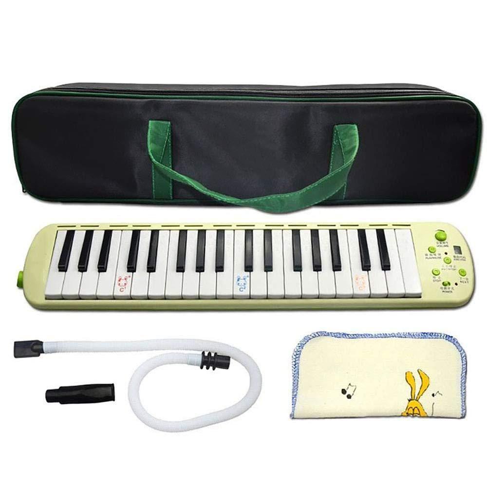 JIAXING Melodica 37 teclas Electronic melodica Niños principiantes ...