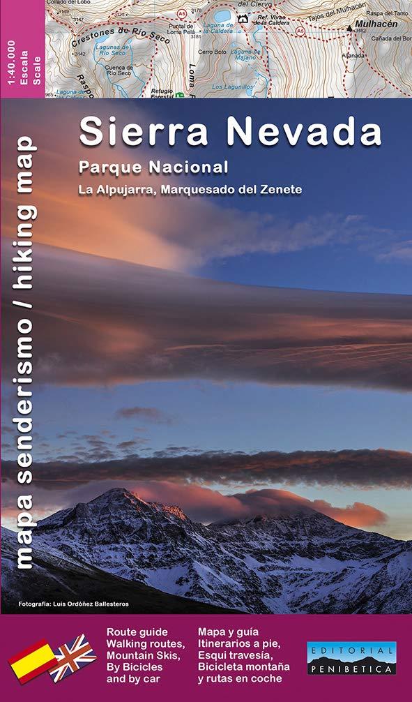 P.N. Sierra Nevada 1: 40.000: la Alpujarra, Marquesado del ...