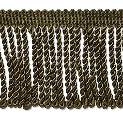 """Expo CNF24108-L80-12 12 yd of Conso 3"""" Bullion Fringe Tri..."""