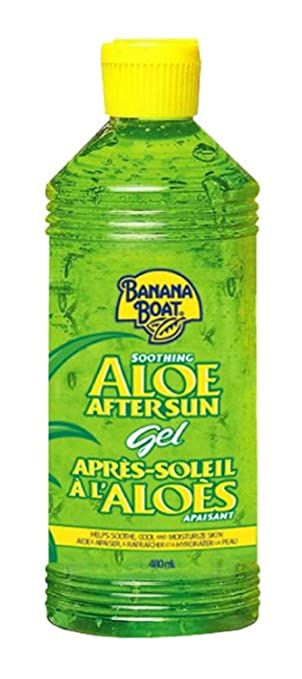 New Banana Boat Soothing Aloe After Sun Gel With Pure Aloe Vera-16 Oz Bath & Body