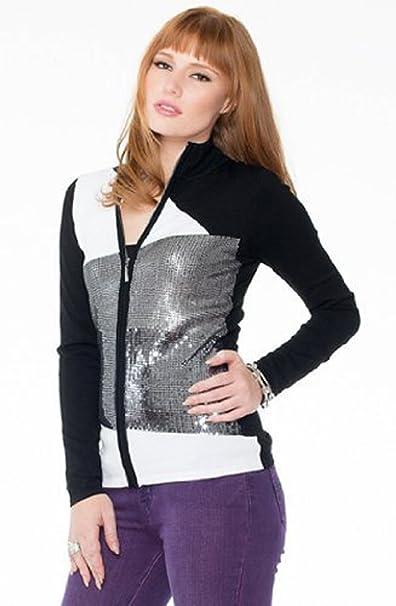 Amazon.com: belldini Block, color – blanco y negro Mock ...