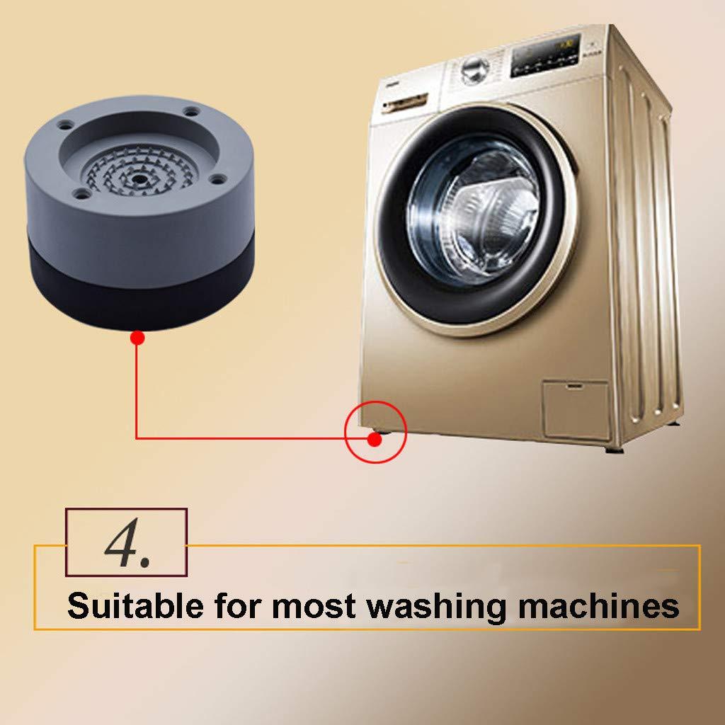 Machine à laver Choc Anti Vibration Pieds en Caoutchouc Pack de 4