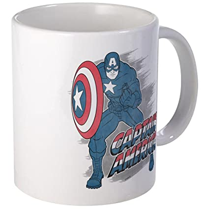 America Vintage Avengers Captain Avengers Captain Mug Mug America POXuiwkZT