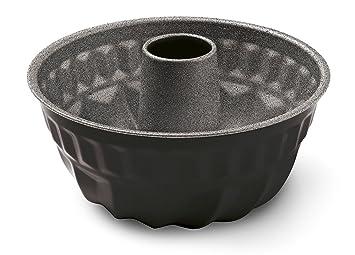 Guardini Blackstone Molde flan con Cono, Acero, Negro/Gris Piedra, 6 Unidad: Amazon.es: Hogar