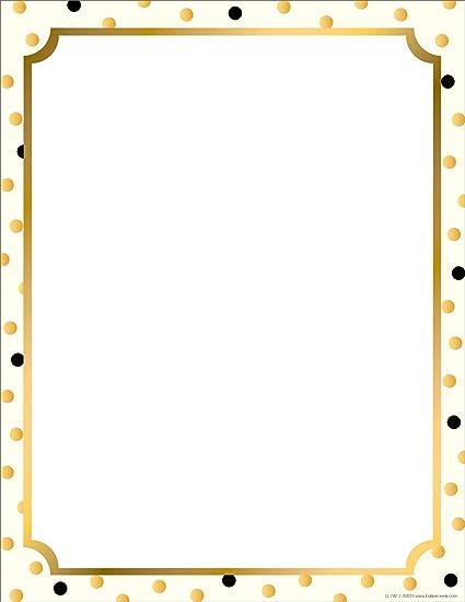 amazon com barker creek designer computer paper gold 8 1 2 x 11