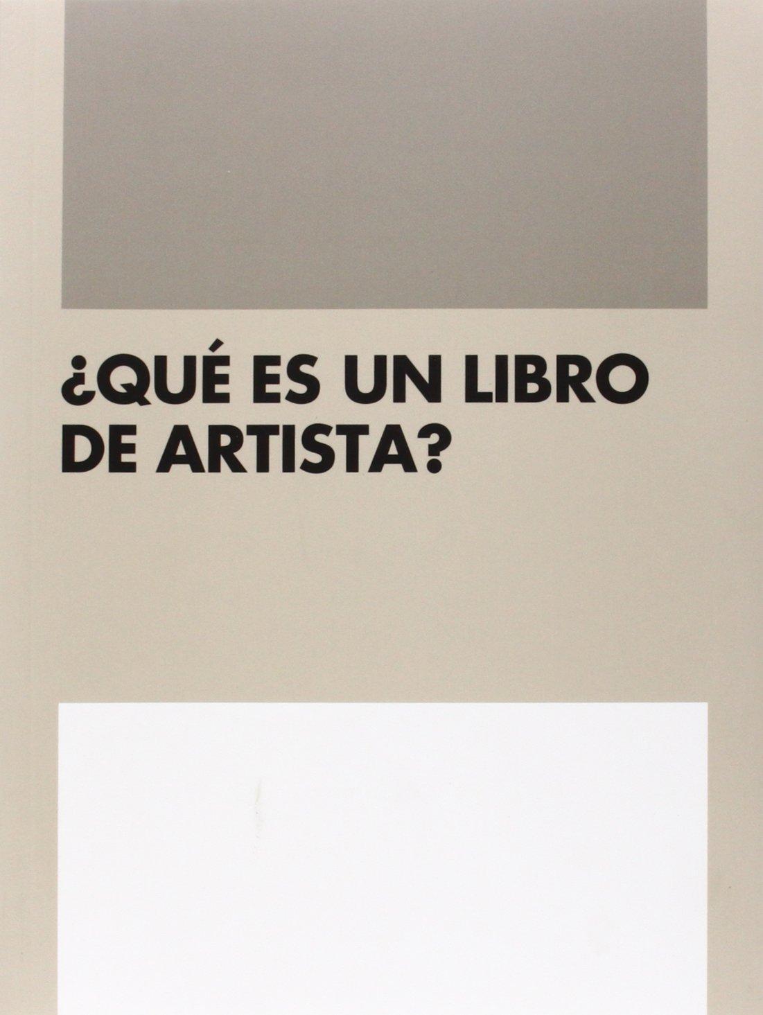 Download ¿Qué es un libro de artista? ebook