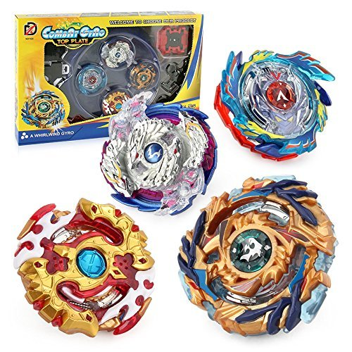 Bey Battle Burst God Evolution High Performance Battling Top Set with 4D Launcher Stater Grip and Stadium Battle Set Aomeiter