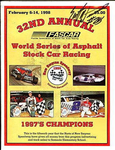New Smyrna Raceway Stock Car Race Program 2/1988-World Series of Asphalt-FR (World Series Of Asphalt Stock Car Racing)