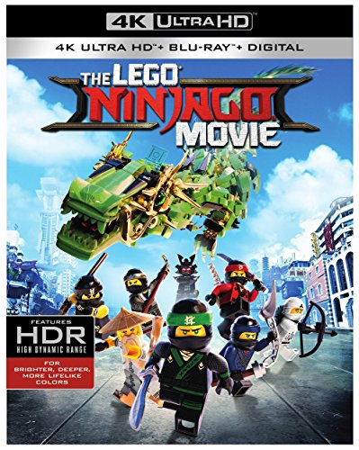 The Lego Ninjago Movie (With Blu-Ray, 4K Mastering, Digital Copy, 2PC)