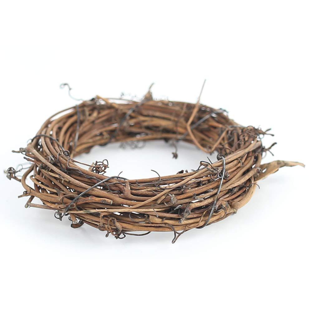 DomeStar 12PCS Grapevine Wreath, 4\