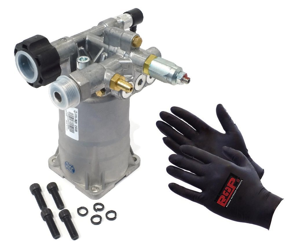 Annovi Reverberi OEM 2600 PSI Pressure Washer Water Pump for Honda Generac Husky Karcher & More by Annovi Reverberi