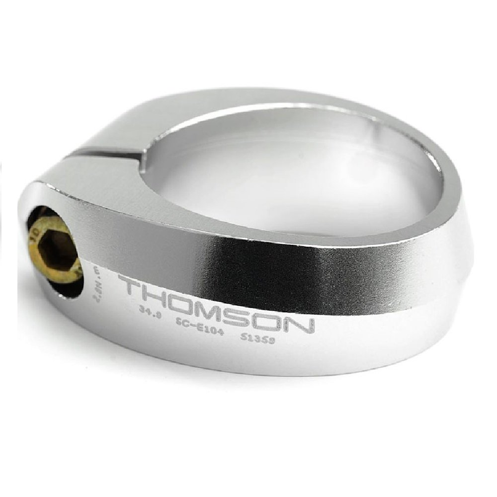 Thomson Seatpost Collar Silver, 31.8mm by Thomson (Image #1)