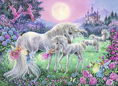 (Ravensburger Unicorns in The Moonlight Jigsaw Puzzle (100 Piece))
