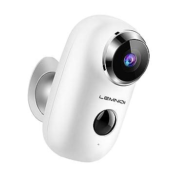 Amazon.com: Lemnoi - Cámara de seguridad para exteriores ...