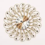 RFVBNM Classic european style mute year crystal creative living room modern bedrooms wall clock creative brief about the walls clocks 5959cm5959cm