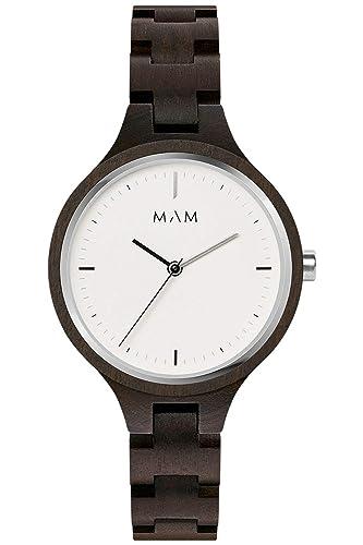 Mam originals Reloj para Mujer Analógico de Cuarzo japonés con Brazalete de Otros SILT 609: Amazon.es: Relojes