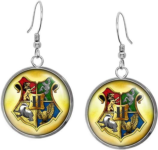 Harry Potter Gryffindor Ravenclaw Slytherin Hufflepuff Pendant Necklace Choice