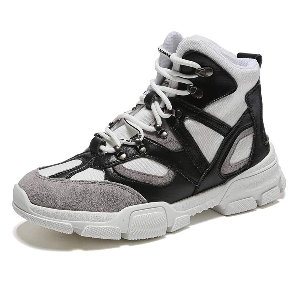 Qiusa Dauerhafter Sport der Männer beschuht weiche Nicht alleinige Nicht weiche Beleg-zufällige Breathable Komfort-Schuhe (Farbe   Schwarz, Größe   EU 43) ee98b0