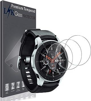 LK Protector de Pantalla para [3 Pack] Galaxy Watch (46 mm ...