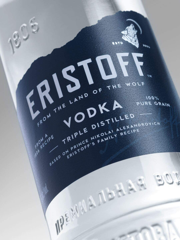 Eristoff Vodka Original, 700ml