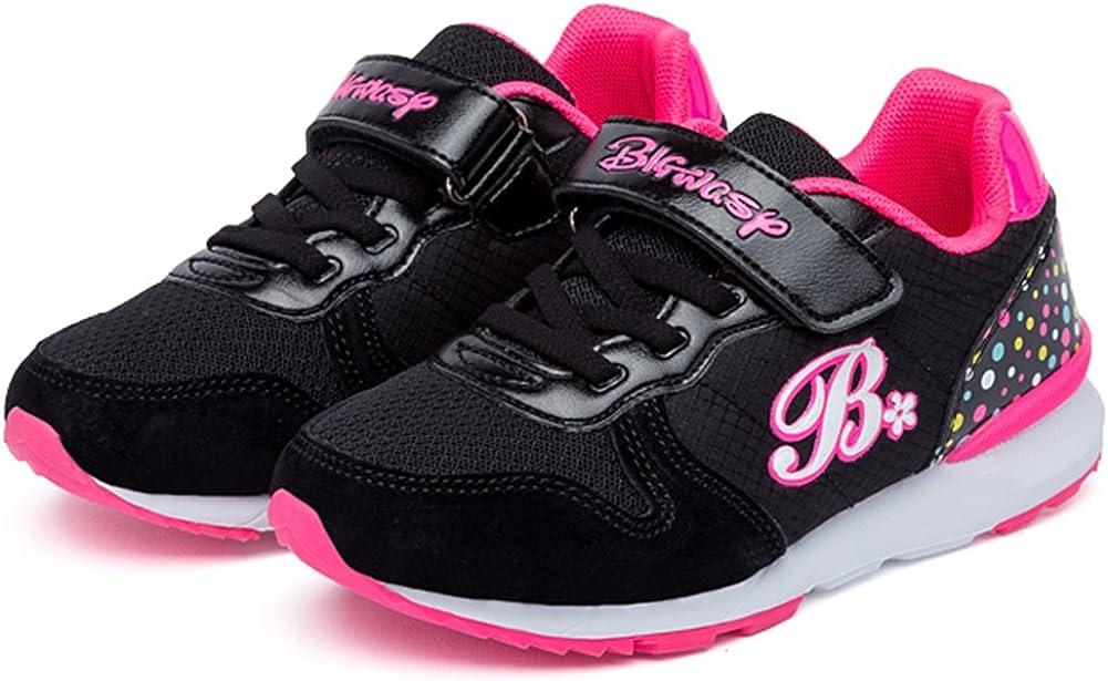 SFNLD InStar Kids Cute Hook and Loop Antiskid Sports Sneakers Shoes