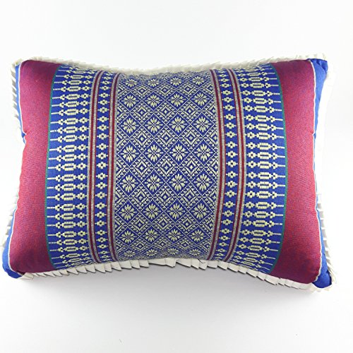 Pillow Headrest Thai Craft Style Hot Vintage Decorative Watching - Women Hot Nakes