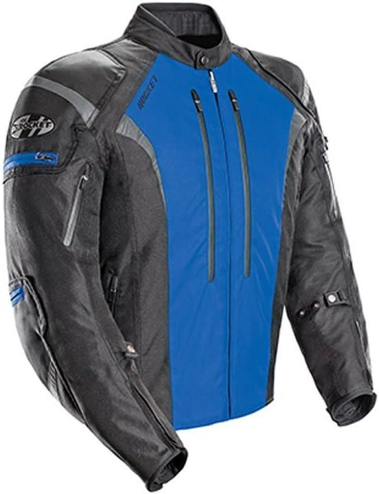 Blue, X-Large Joe Rocket Atomic Mens 5.0 Textile Motorcycle Jacket