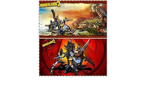 Amazon com: JinJing Prints Borderlands 2 Roland Lilith