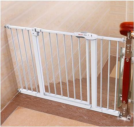 Barrera De Seguridad Para Bebés Barra De Escaleras Para Bebés Valla Para Perros Para Mascotas Cerca Del Poste Cerca De La Puerta De Aislamiento Golpe Libre 65-74cm / 75-84cm Sea Aplicable: Amazon.es: