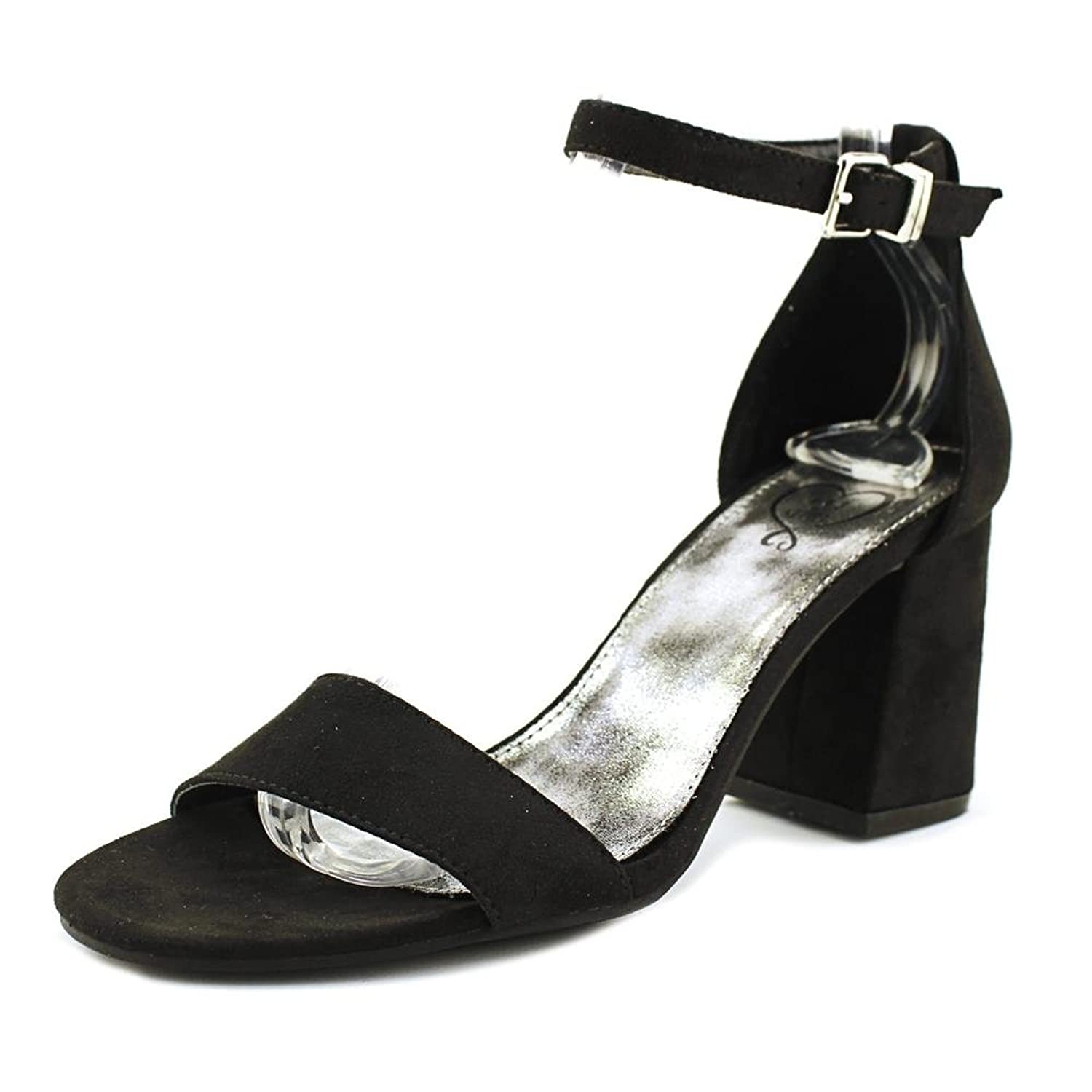 143 Girl Newsie Women US 8.5 Black Heels