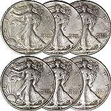 1940-1945 Walking Liberty Silver Half Dollar 50C