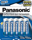 Panasonic Energy Corporation LR6XP/10B Platinum Power AA Alkaline Batteries, Pack of 10 Review