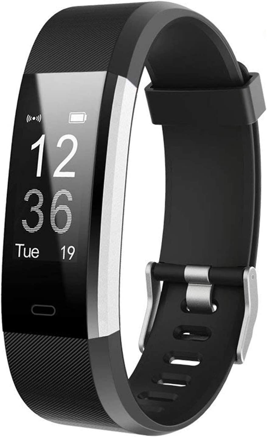 Lintelek Fitness Tracker with Heart Rate Monitor, Activity Tracker with Connected GPS, IP67 Waterproof Smart Fitness Band with Step Counter, Calorie Counter, Pedometer for Kids Women and Men : Sports & Outdoors