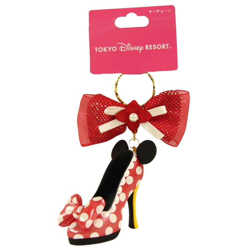 ミニー マウス キーチェーン キーホルダー 靴モチーフ ディズニー ( 東京 ディズニーリゾート限定 ディズニー グッズ お